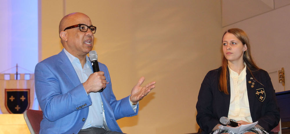 Social Justice Innovator and Ford Foundation President Darren Walker Visits ESD Campus