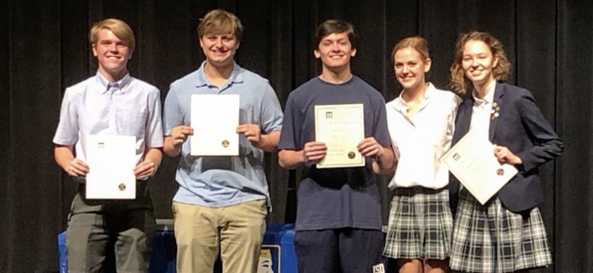 7 Students Inducted Into International Thespian Society, 3 Win Awards