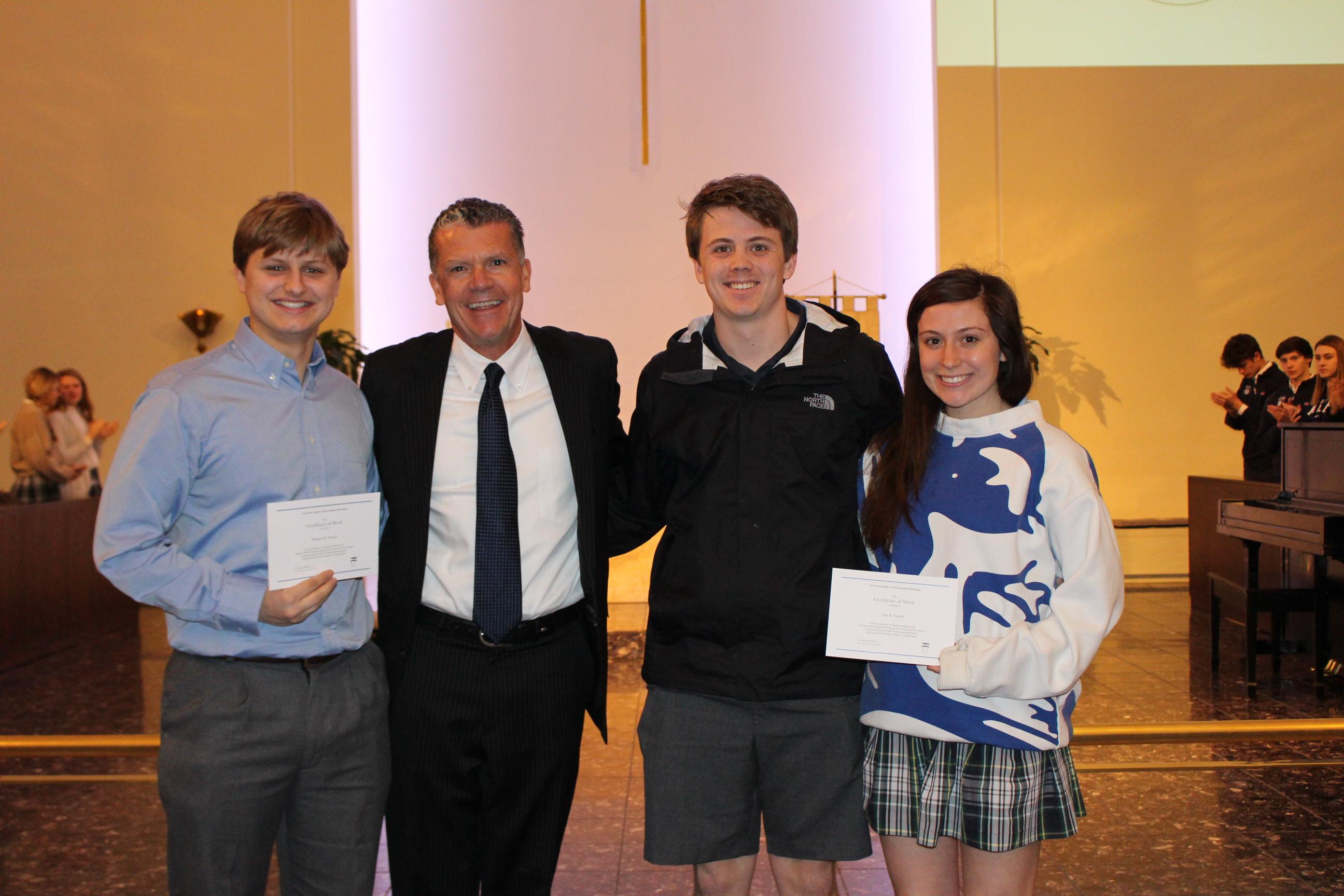 Three Students Named Finalists by National Merit Scholarship Program